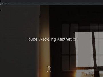House Wedding Aesthetics